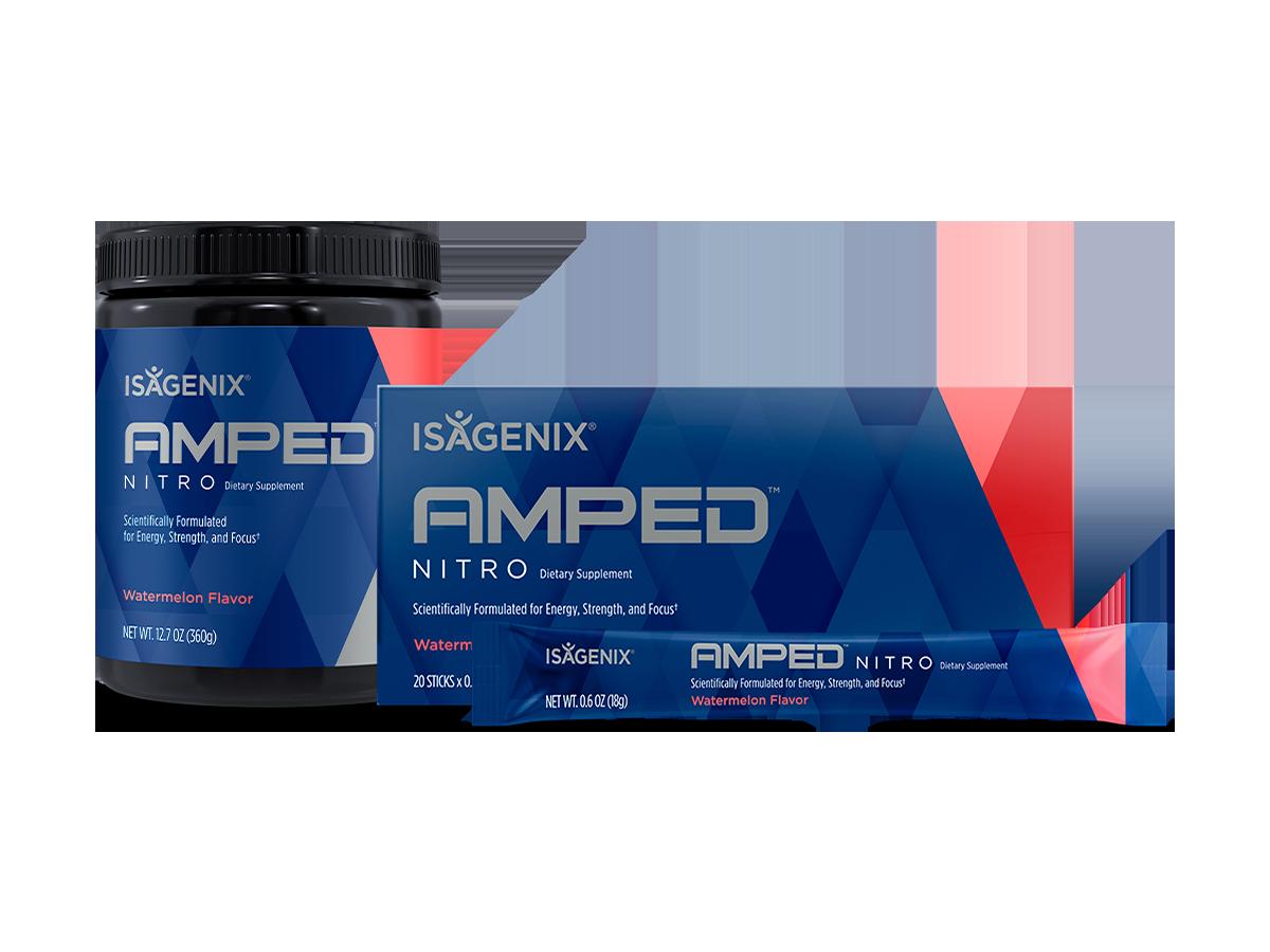Isagenix AMPED Pre-Workout